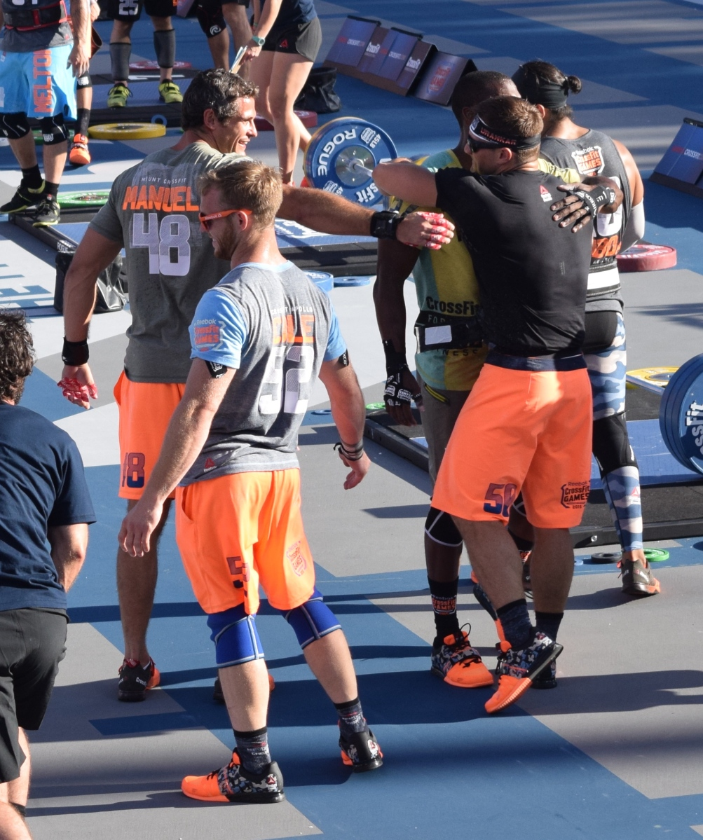 The 2015 Crossfit Games In Photos 1rm Clean Amp Jerk