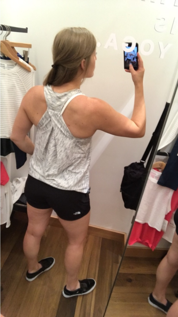 The Fitting Room: Lululemon Essential Tank