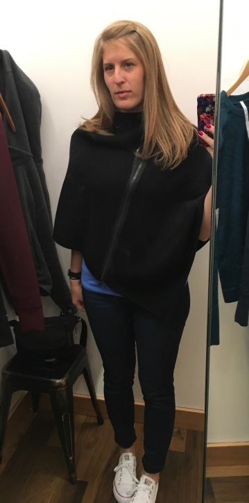the fitting room lululemon on the go poncho rest less pullover